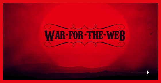 War for the Web Web Design
