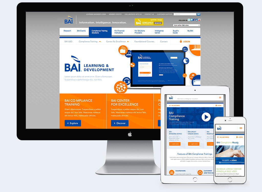 BAI - Responsive Web Design Example 1