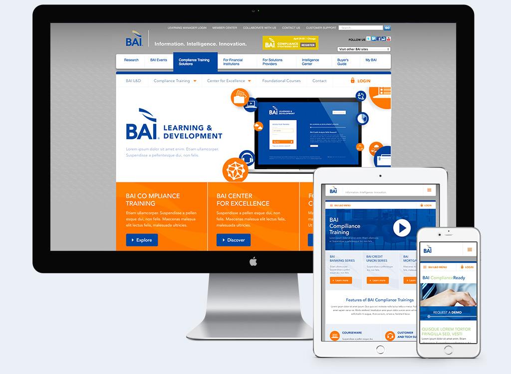 BAI - Responsive Web Design Example 1