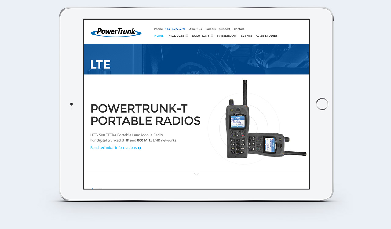 PowerTrunk - Responsive Web Design Example 2
