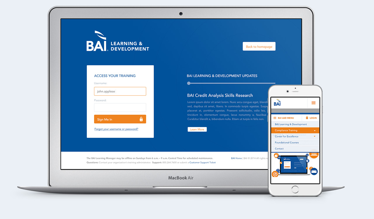 BAI - Responsive Web Design Example 2