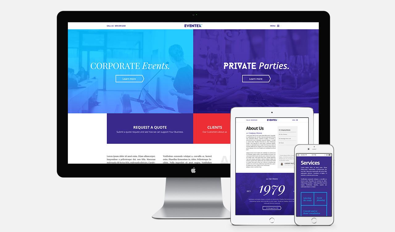 Eventex - Web Design Example 1