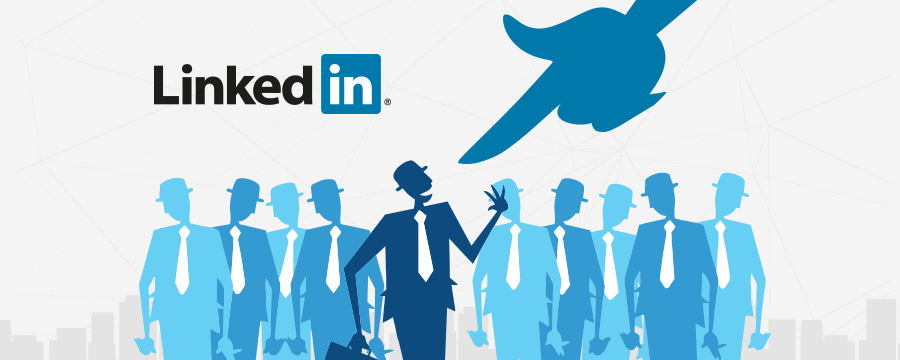 use linkedin to find employees